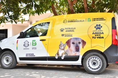 A Patrulha Animal está sempre nas ruas atendendo os animais de famílias carentes. (Foto: Jairo Cassiani)