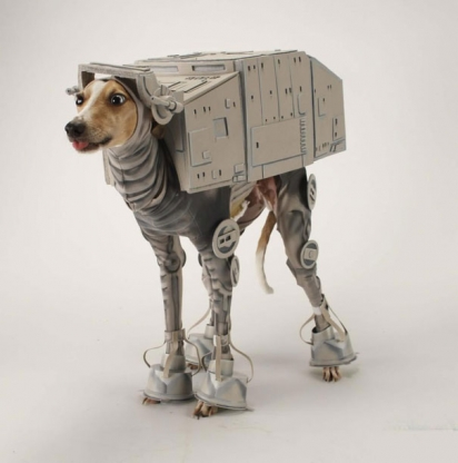 AT - AT Dog. (Foto: Reprodução/starwarsblog.starwars.com)