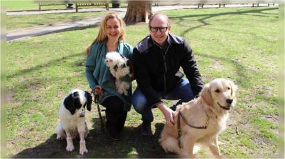 Brasileira desenvolve tecnologia revolucionária de tratamento do câncer entre cães. (Foto: ONE HEALTH)