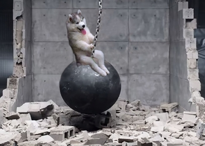 Wrecking Ball, de Miley Cyrus. (Foto: Reddit/artunitinc)