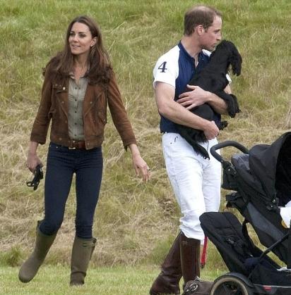 Lupo foi dado ao príncipe William e a sua esposa Kate Middleton como presente de casamento pela família de Kate. (Foto: Instagram/Kensingtonroyal)