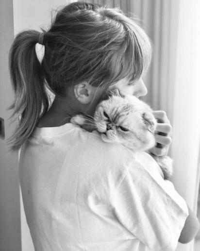 Taylor Swift é uma mamãe adotiva de três: Meredith, Olivia e Benjamin. (Foto: Instagram/Taylor Swift)