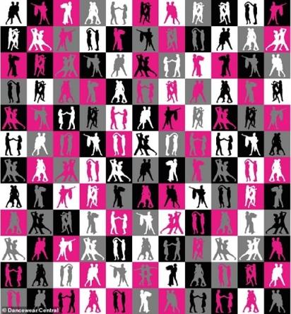 Este quebra-cabeça foi criado pela Dancewear Central do Reino Unido, lançado para celebrar Nicola Adams e Katya Jones se tornando o primeiro casal do mesmo sexo a dançar juntos no programa de sucesso da BBC One. De acordo com o criador, o tempo mais rápido registrado para encontrar a dupla foi de 70 segundos. Quanto tempo você levará? (Foto: Reprodução/Dancewear Central)