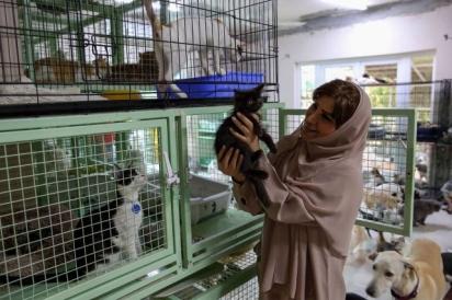 Maryam al-Balushi se recusava a ter animais de estimação em casa. (Foto: AFP via Getty Images)