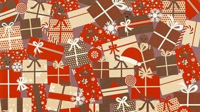 Desafio de achar o cachorro escondido em meio a decoração de Natal. (Foto: Protectivity Insurance)