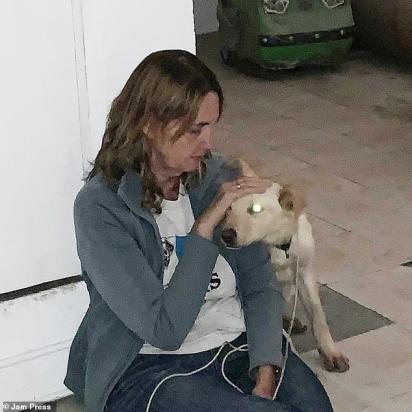 Boston está agora com Marcela em Mascotas Coyoacán enquanto ele faz um exame médico, mas logo será realocado com uma família amorosa