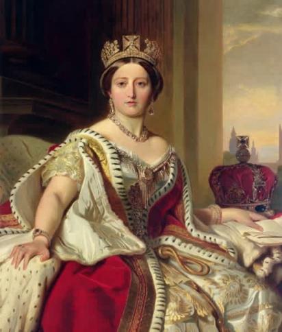 A rainha Vitória tornou a raça lulu popular. (Foto: Divulgação Getty Images/After Franz Xavier Winterhalter)