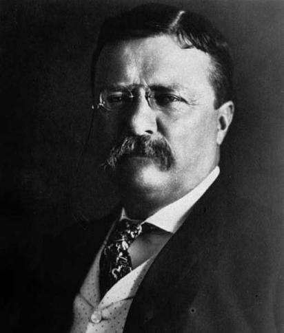 O presidente americano Theodore Roosevelt teve um lulu. (Foto: Divulgação/Associated Press)