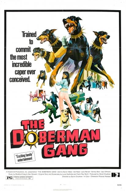 Nos anos 70 um filme foi estrelado com a raça dobermann. (Foto: Divulgação/Imdb)