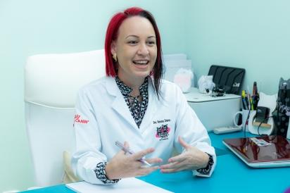 Vanessa Zimbres, médica veterinária especializada em medicina felina. (Foto: JF Gestão de Conteúdo)