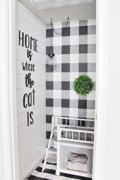 A gatinha é muito amada pelos seus donos, eles projetaram um lindo quarto. (Foto: Arquivo Pessoal/Kelsey Mansingh)