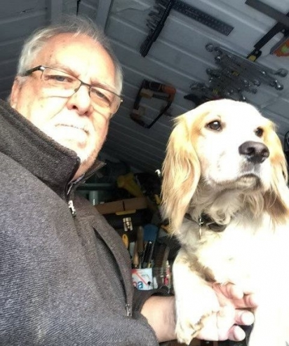 A família de Mike Jasper comprou Ted para ajudá-lo em sua depressão e ansiedade.