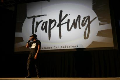 TrapKing já foi chamado para palestrar sobre seu trabalho.