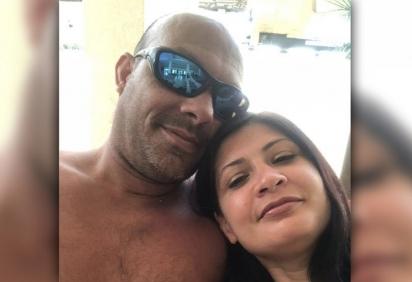 Michael March, 42, e sua noiva, Ann Marie Fasano, 45.