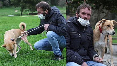 Um jovem sem-abrigo de Portugal recusou emprego e moradia para poder continuar com a companhia de sua cadela.