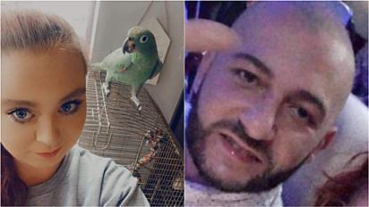 Homem agride ex-namorada pela custódia do papagaio.