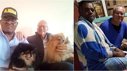 Casal viveu em cativeiro por três meses e contou com a ajuda dos seus cães para se manter esperançoso com o resgate.
