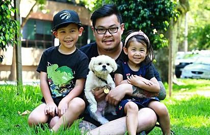 Shih tsu Baymax voltou para a família Phethalankham depois de desaparecer por dois anos.