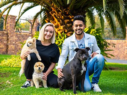 Uma linda família.