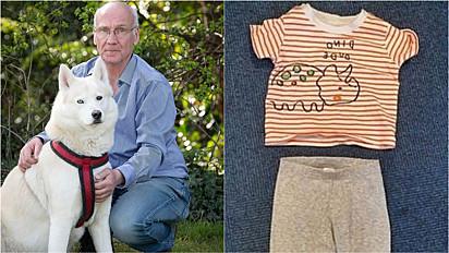 Husky siberiano salva a vida de bebê abandonado em parque na cidade de Birmingham, Inglaterra.