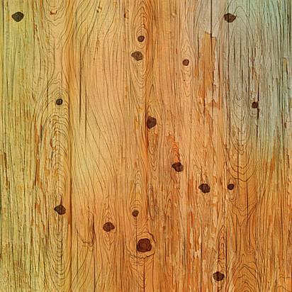 Encontre o cachorrinho entre os nós da madeira.