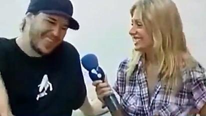 Luisa Mell recorda entrevista com Chorão.