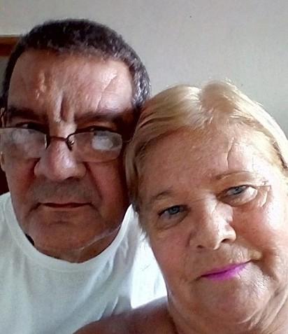 O casal Renato Costa e Sônia Rodrigues Costa.