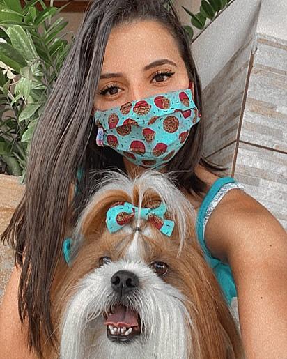 Letícia Fagundes Oliveira e Nick.