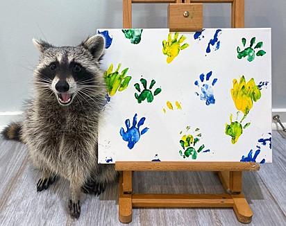 Apaixonada pela arte e pelo artista.