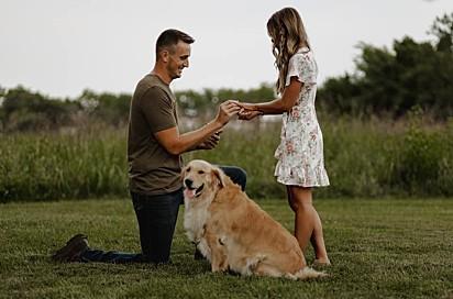Molly será a florista no casamento.