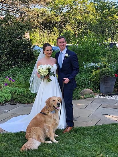 O casamento da minha filha em maio passado.