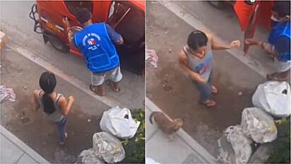 Cachorro volta para casa sozinho de mototáxi depois de ser esquecido pela dona no mercado.