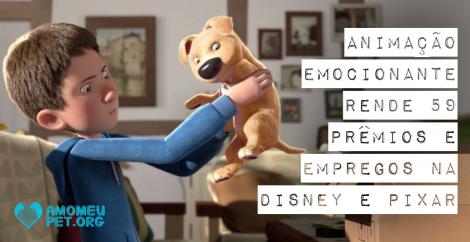 Animação emocionante rende 59 prêmios e empregos na Disney e Pixar