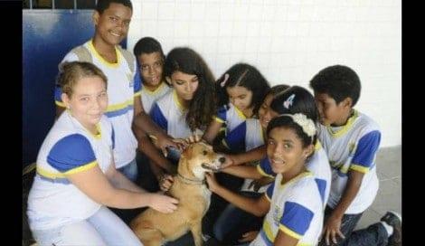 Escola do Recife adota atividades de respeito aos animais e vira sucesso