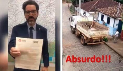 Deputado toma atitude sobre caso de cães largados em lixão em MG