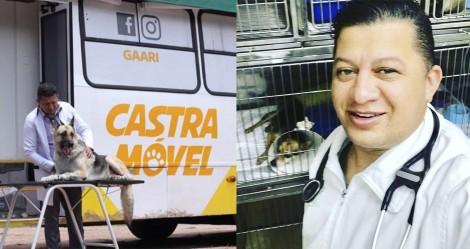 Vereador economiza seu salário e cria um dos maiores programas de castração animal do país