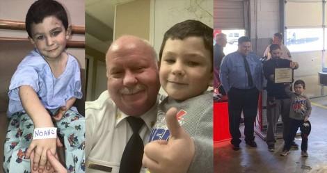 Menino de 5 anos salva seu cachorro e outros 8 familiares de incêndio