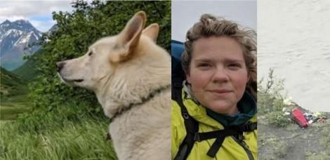 Husky é considerada heroína por ter salvo alpinista surda em trilha no Alasca