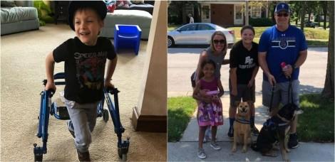 Mãe pede para vizinhos trazerem seus cães para aniversário de filho e mais de 100 visitantes comparecem