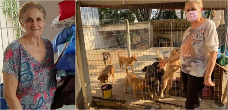 'Meu coração não me permite ignorar' diz mulher que já acolheu mais de 1.000 animais