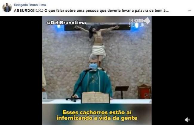 Foto: Reprodução Facebook / Delegado Bruno Lima