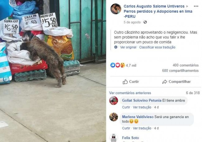 Foto: Facebook /  Carlos Augusto Salomé