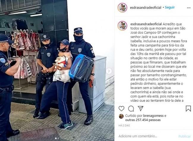 Foto: Reprodução Instagram / esdrasandradeoficial