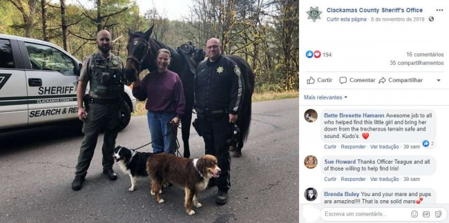 Foto: Facebook / Clackamas County Sheriffs Office