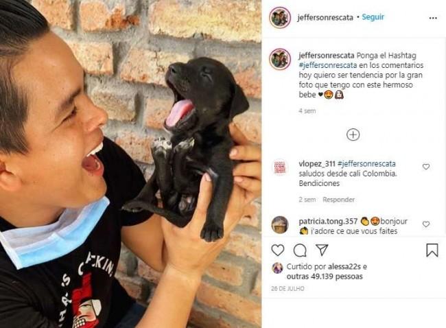 Foto: Instagram / jeffersonrescata
